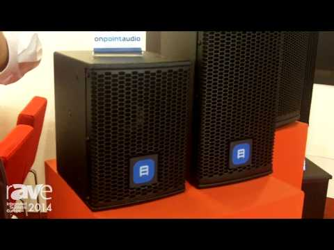 ISE 2014: On Point Audio Presents The OPA 8 NP Coaxial Loudspeaker System