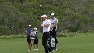 Dustin Johnson shows serious touch on approach at Hyundai