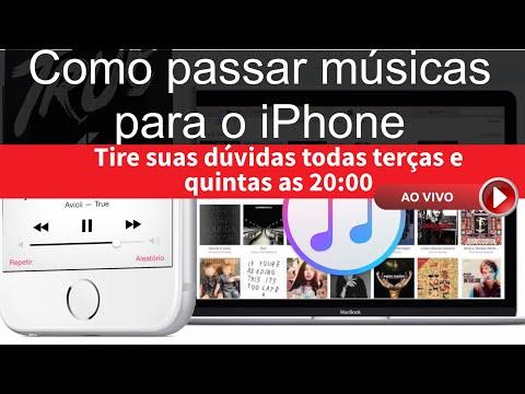 1 - Como transferir músicas para o iPhone 4, 4s, 5, 5c, 5s, 6, 6s, Se