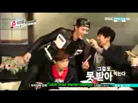 [indo Sub] 140213 Exo's Showtime Ep 12 End video