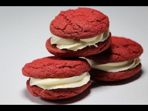 Red Velvet Cookies   Sanjeev Kapoor Khazana