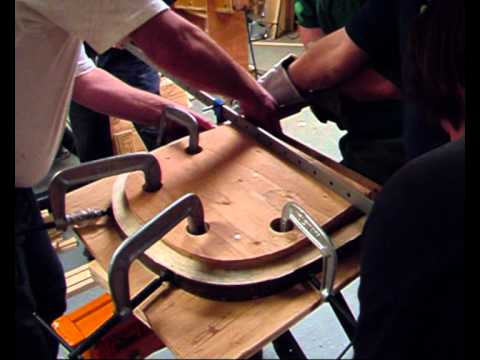 Making a Windsor chair