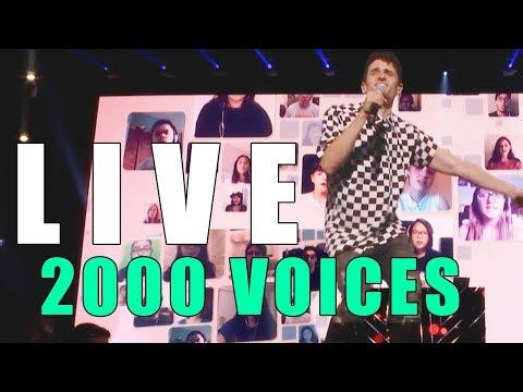 "LIVE @ VIDCON - 2000 People Sing ""Cheap Thrills"" - VIRTUAL CHOIR"