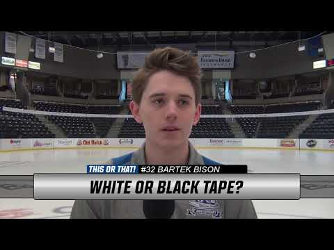 January 19: Fargo Force Player Spotlight Video #32 Bartek Bison