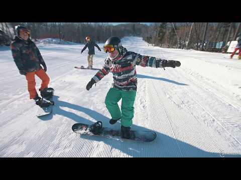 Школа сноуборда  Специальный выпуск  Баланс на сноуборде