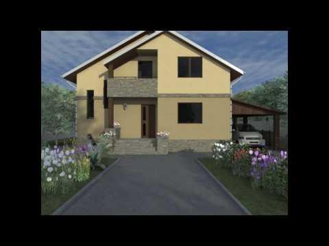 Proiecte case cu mansarda | Model casa FMD Bucuresti