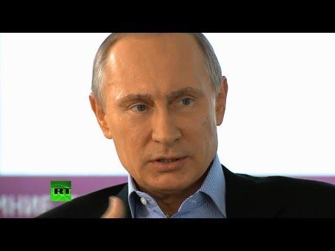 Интервью Владимира Путина отечественным и зарубежным СМИ