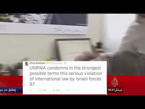 UN Spokesman Breaks Down on Live TV over Israel's Killing of Palestinian Children