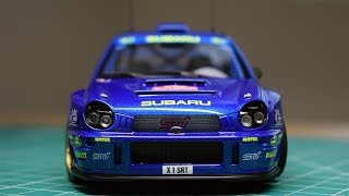 Building a Scale Model: Tamiya Subaru WRC 2001
