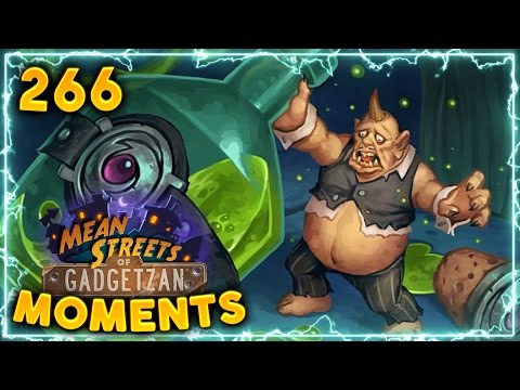 Pint-Size Potion Combo!! | Hearthstone Gadgetzan Daily Moments Ep. 266 (Funny and Lucky Moments)