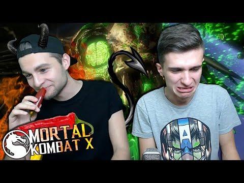 НЕ ОТРАВИСЬ ЧЕЛЕНДЖ в Mortal Kombat X 🌶