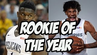 Who Can Steal Rookie of the Year From Zion Williamson? 2020 NBA