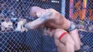 John Cena vs Randy Orton Highlights   HD Hell In A Cell 2014
