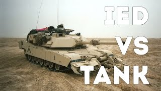 IED vs Tank - Mine Clearing with M1 Abrams