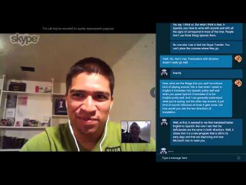 Hands On: Skype Translator