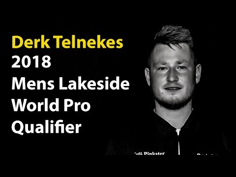 Derk Telnekes Qualifies for the 2018 Lakeside World Championship