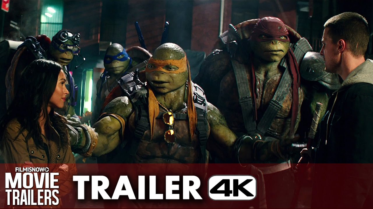 Teenage Mutant Ninja Turtles: Out of the Shadows Official Trailer - 4K Ultra HD