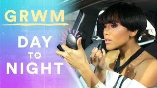 GRWM in My Car From Day to Night