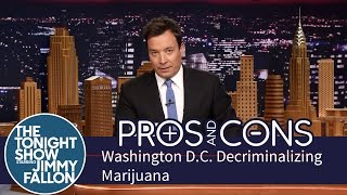 Pros and Cons: Washington D.C. Decriminalizing Marijuana