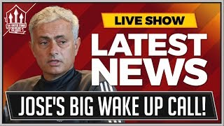 Mourinho's World Cup WakeUp Call! Man Utd News