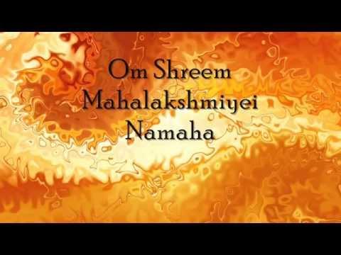 Om Shreem Mahalakshmiyei Namaha | Mahalakshmi Mantra video
