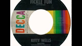 Watch Kitty Wells Fickle Fun video