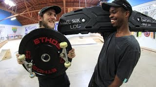 SKATE EVERYTHING WARS DICKS SPORTING GOODS! | SKATE EVERYTHING WARS EP. 10