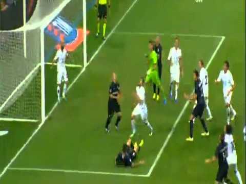 inter-fiorentina 1-1 stupendo goal di esteban cambiasso 26/09/13