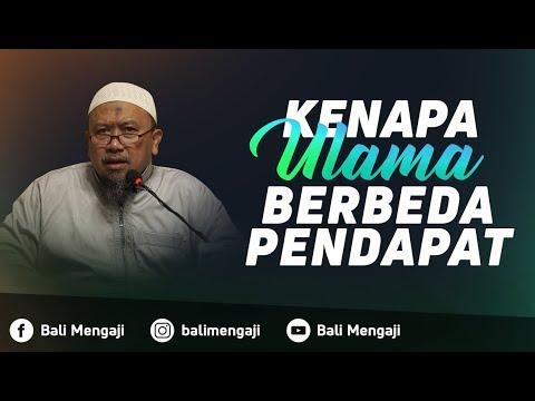 Kenapa Ulama Berbeda Pendapat - Ustadz Mahfudz Umri, Lc