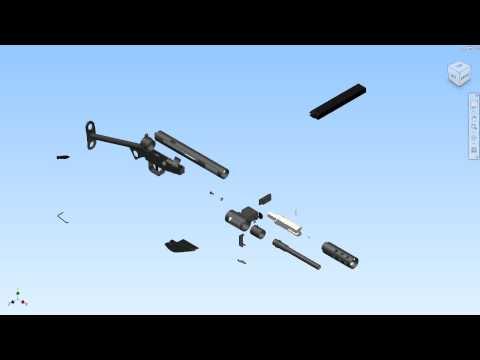MK2 STEN GUN EXPLOSION.avi