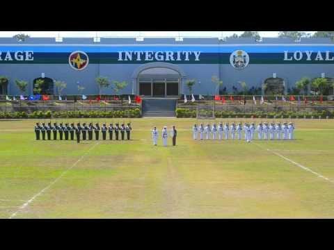 PMA Siklab Diwa Class of 2014 Silent Drill    Homecoming 2013