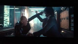 John Wick Throwing Knives Scene