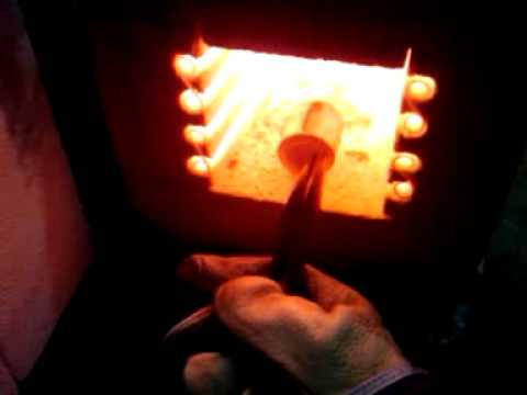 Homemade Electric Kiln Furnace Oven Youtube