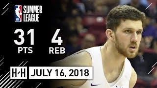 Svi Mykhailiuk Full Highlights vs Cavaliers (2018.07.16) NBA Summer League - 31 Pts, 4 Reb