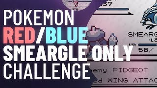 Smeargle Only Challenge | Pokemon Red/Blue