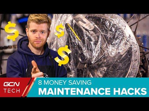 8 Road Bike Money Saving Maintenance Hacks