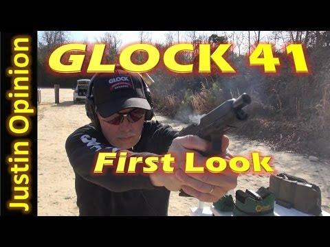 GLOCK 41 FIRST LOOK: Big Bore Tack Driver