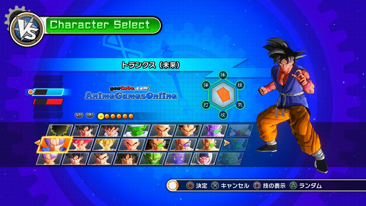 Dragon Ball Xenoverse Created Characters Dragon Ball Xenoverse All
