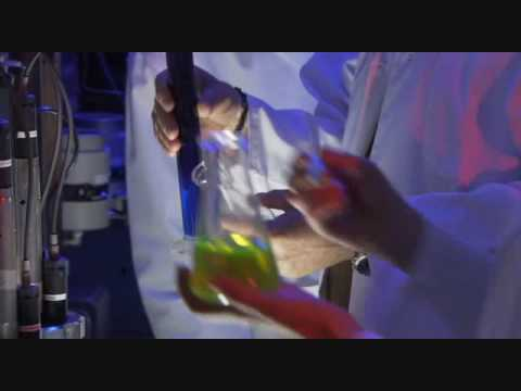 Mega Shark Giant Octopus lab scene