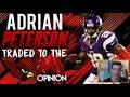 ADRIAN PETERSON TRADED TO THE ARIZONA CARDINALS! SAINTS FINALLY TRADE AP!