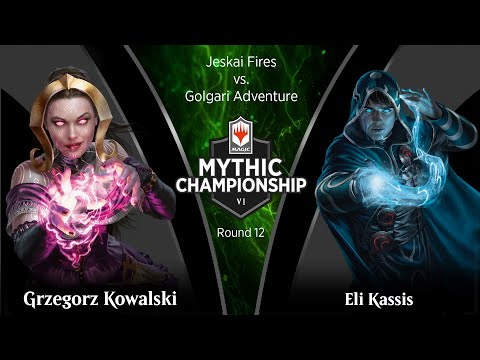 Grzegorz Kowalski vs. Eli Kassis - Round 12 (Standard) - 2019 Mythic Championship VI