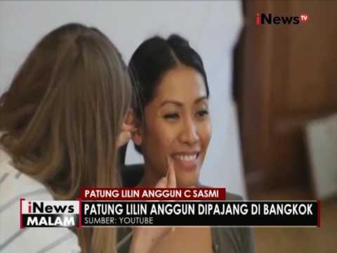 Penyanyi Anggun C Sasmi, dibuatkan patung lilin di Bangkok - iNews Malam 05/07