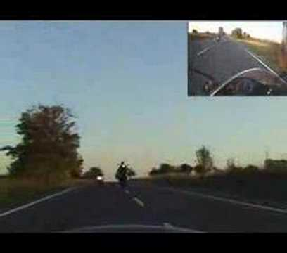 crazy bulgarian on a motorbike 2