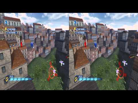 Sonic Unleashed Wii 3D