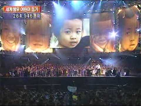 (rare) Michael Jackson & Friends In Seoul 1999 *full* 6 6 (you Are Not Alone + Heal The World) video