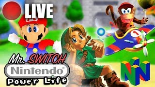 Back in time with Zelda Ocarina Of Time with Mr Switch!!