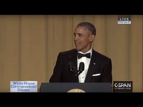 President Obama at the 2016 White House Correspondents Dinner, Part 1