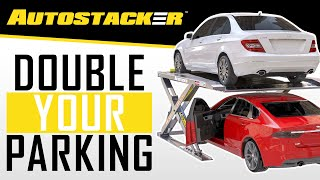 Autostacker Parking Lift: The Car Lift For Home Garage Storage