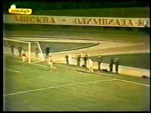 Кубок Чемпионов 1980-1981гг.   1/4 финала   Спартак - Реал Мадрид