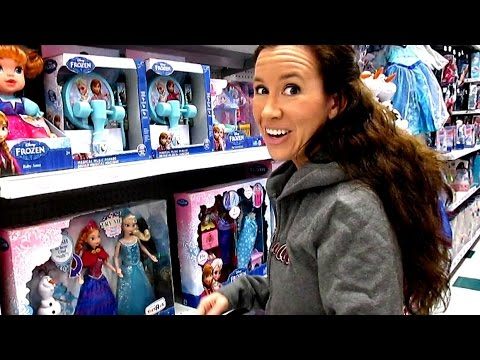TOY HUNTING - Disney Frozen. Cabbage Patch Kids. Kitty Surprise. Max Tow Truck